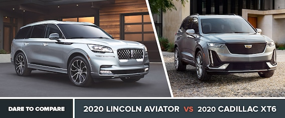 Lincoln Vs Cadillac >> 2020 Lincoln Aviator Vs Cadillac Xt6 Beckley Wv