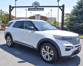 new 2020 Ford Explorer Platinum SUV for sale near Boise