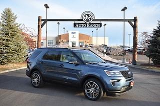 new 2019 Ford Explorer Sport SUV for sale near Boise
