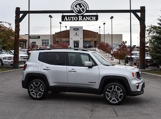 new 2020 Jeep Renegade Latitude 4x4 SUV for sale near Boise