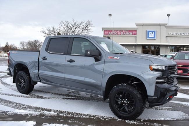 New 2019 Chevrolet Silverado 1500 LT Trail Boss Truck Crew Cab For Sale near Twin Falls, ID