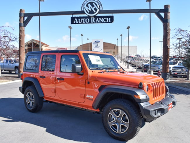 New 2019 Jeep Wrangler Sport 4x4 SUV For Sale near Twin Falls, ID