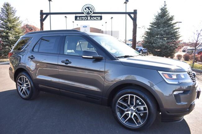 New 2019 Ford Explorer Sport SUV near Twin Falls