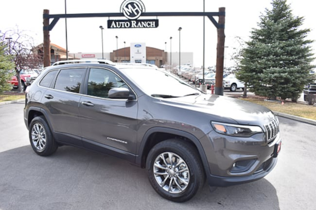 New 2019 Jeep Cherokee Latitude Plus 4x4 SUV For Sale near Twin Falls, ID