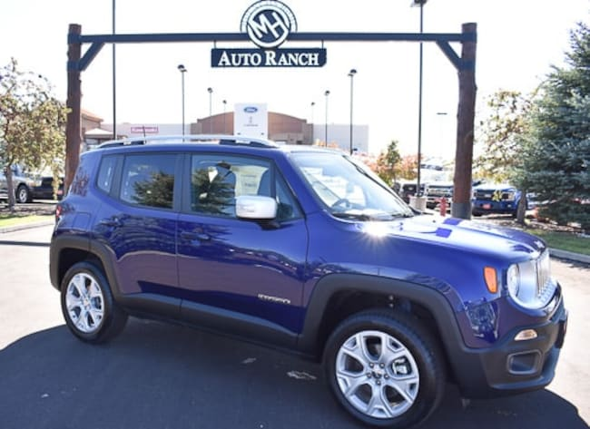 New 2018 Jeep Renegade Limited 4x4 SUV For Sale near Twin Falls, ID