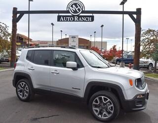 new 2018 Jeep Renegade Latitude 4x4 SUV for sale near Boise