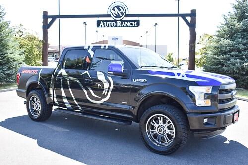 2015 Ford F-150 Lariat Truck SuperCrew Cab