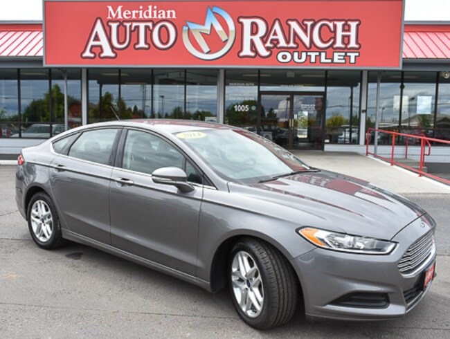 2014 Ford Fusion For Sale >> Used 2014 Ford Fusion For Sale In Meridian Vin 3fa6p0hd9er370499