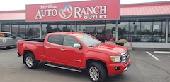 used 2015 GMC Canyon SLT Truck Crew Cab for sale boise
