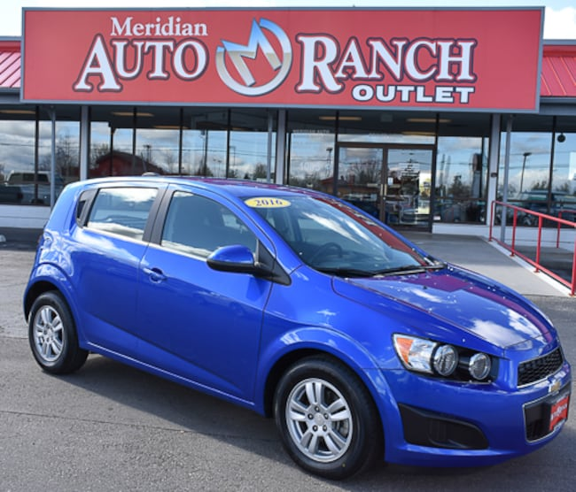 Used 2016 Chevrolet Sonic LT Auto Hatchback For Sale near Twin Falls, ID