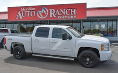 used 2013 Chevrolet Silverado 1500 LTZ Truck Crew Cab for sale boise