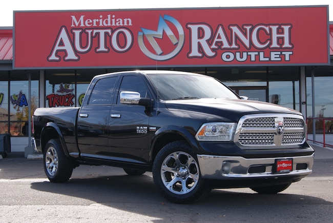 Used 2015 Ram 1500 Laramie 5.7L V8 HEMI MDS VVT Truck Crew Cab For Sale near Twin Falls, ID