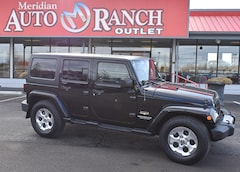 used 2015 Jeep Wrangler Unlimited Sahara 4x4 SUV for sale boise