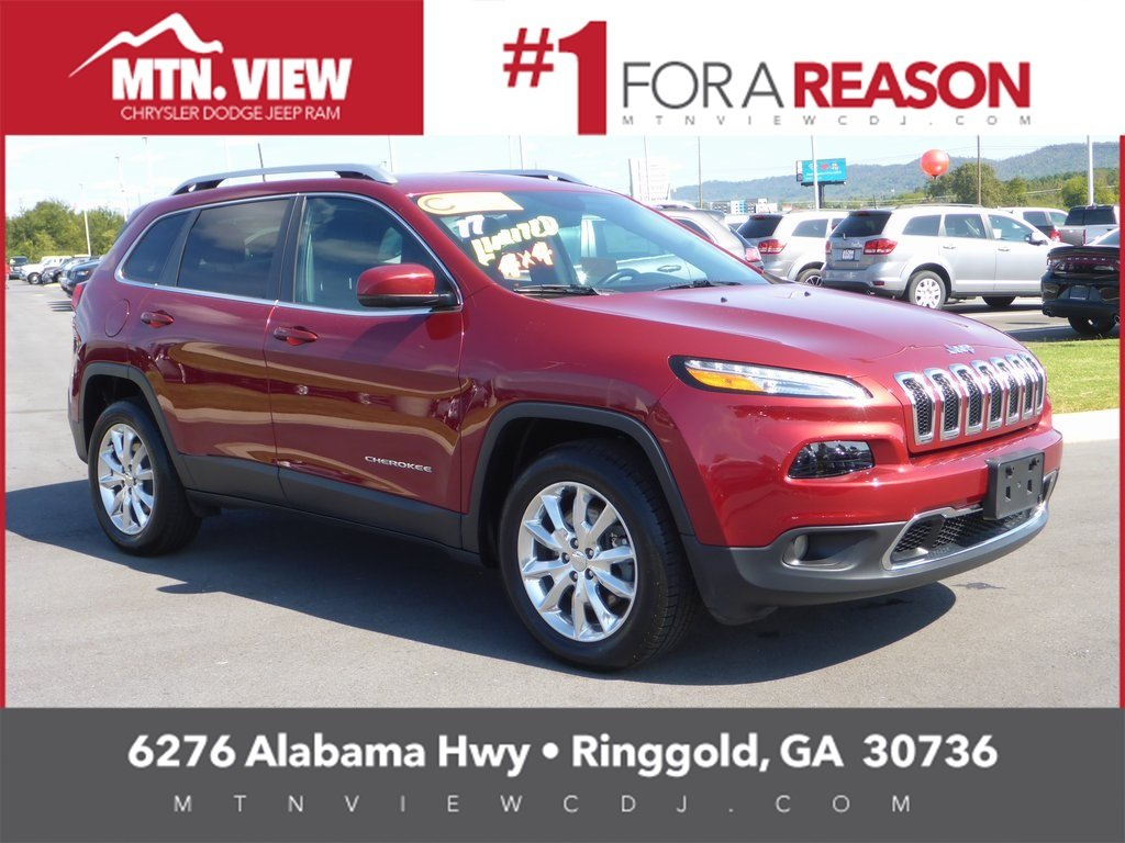 2017 Jeep Cherokee Limited 4D Sport Utility