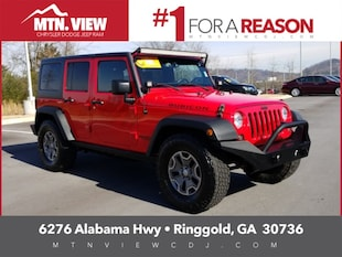 2015 Jeep Wrangler Unlimited Rubicon 4D Sport Utility
