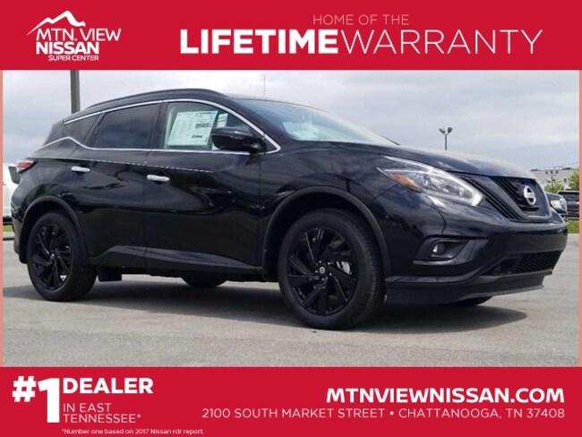 New 2018 Nissan Murano SL SUV Chattanooga, TN