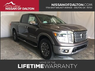 New 2018 Nissan Titan Platinum Reserve Truck with Platinum Utility Package 18935T in Dalton, GA