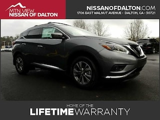 New 2018 Nissan Murano SV SUV with Navigation 18216 in Dalton, GA