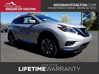 New 2018 Nissan Murano SV SUV with Navigation 18222 in Dalton, GA