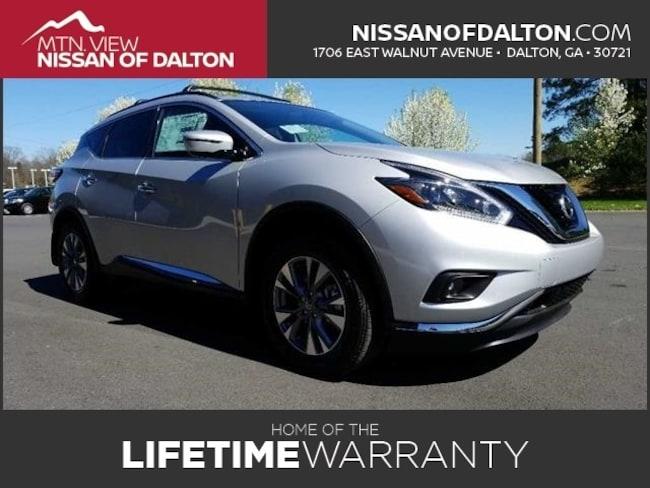 New 2018 Nissan Murano SV SUV with Navigation in Dalton, GA