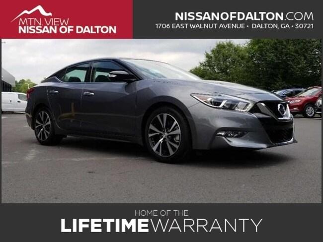 New 2018 Nissan Maxima Platinum Sedan in Dalton, GA