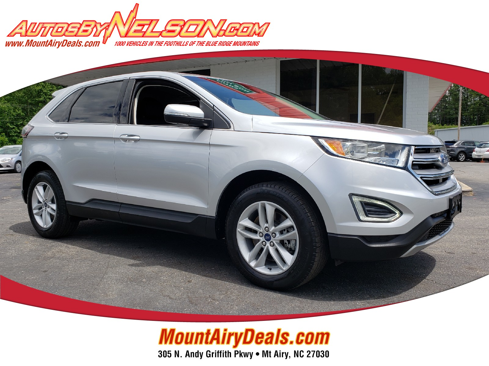 Used 2015 Ford Edge for Sale in Stanleytown, VA (MA997)