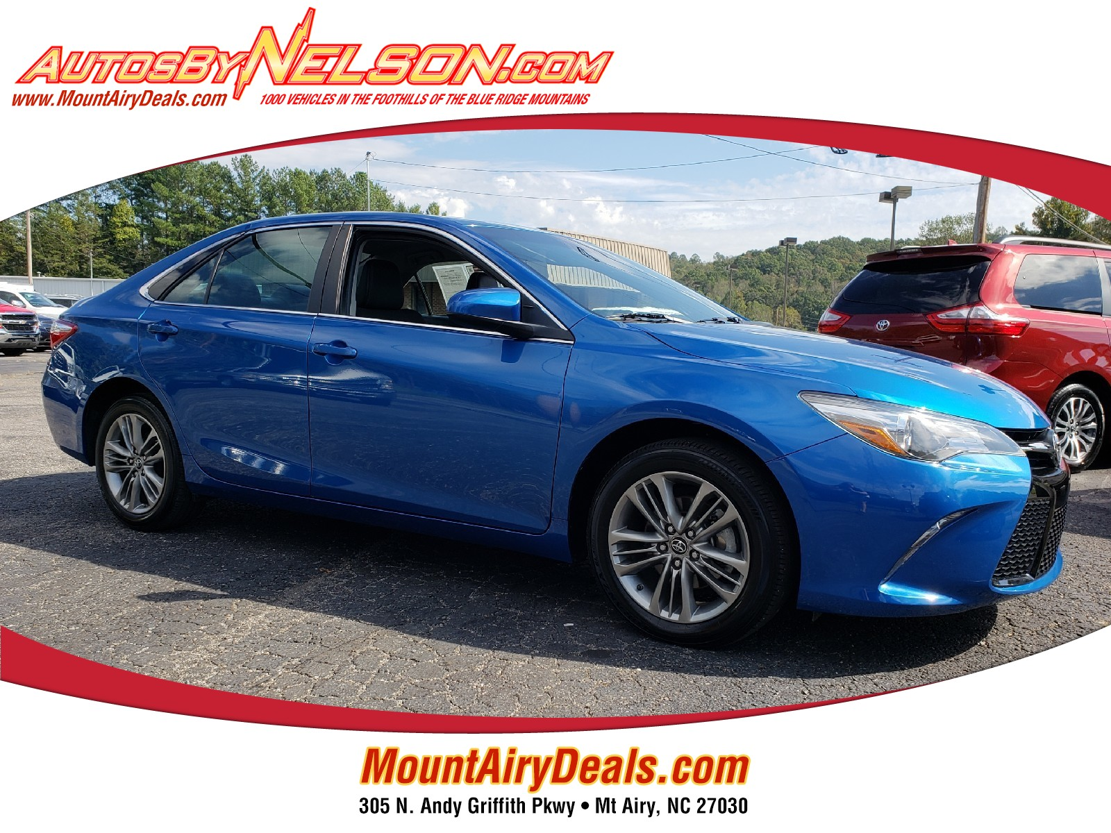 Used 2017 Toyota Camry For Sale at Nelson Mazda | VIN