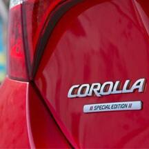 2017 Toyota Corolla rear