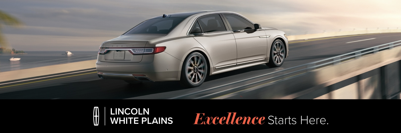 Lincoln Continental lease deal image