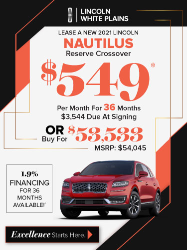 Lincoln Nautilus lease deal image