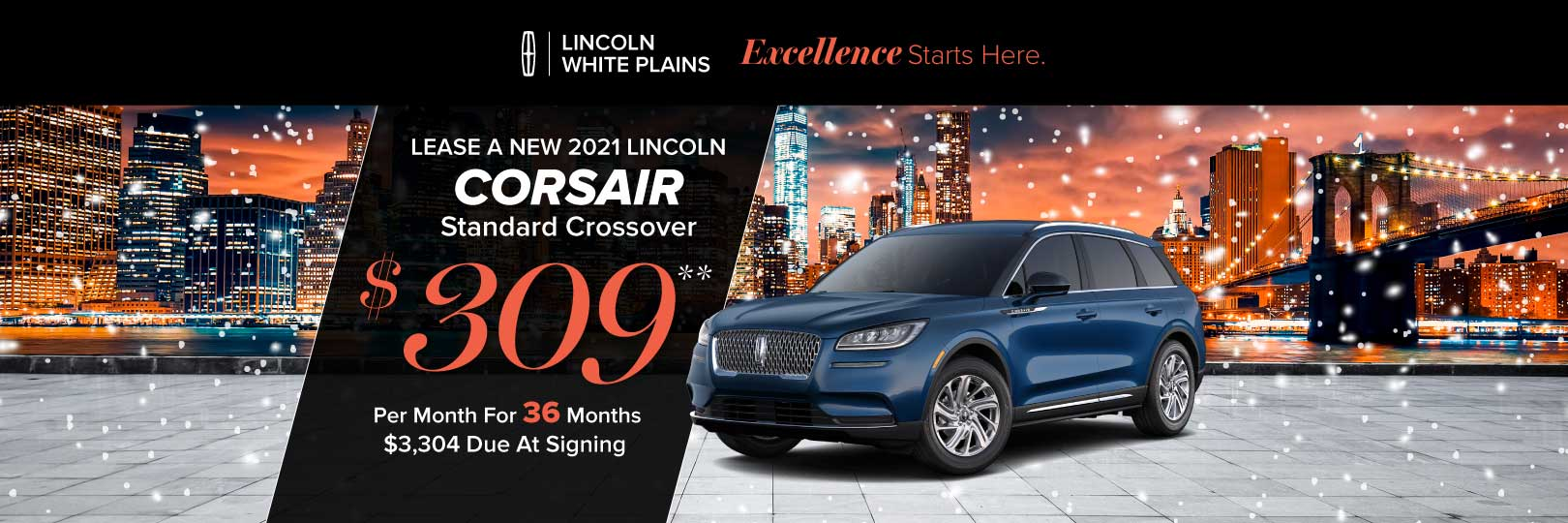 Lincoln Corsair lease deal image