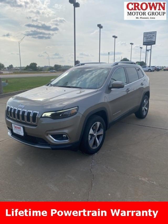 New 2020 Jeep Cherokee For Sale In Mt Pleasant Ia Vin 1c4pjmdxxld656276