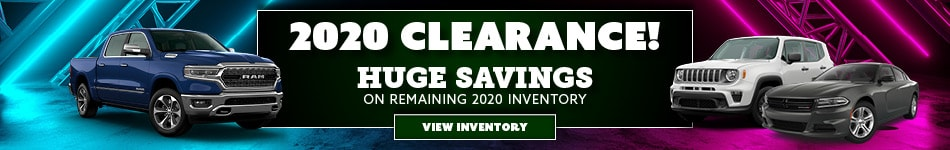 Save Big on Remaining 2020 Inventory