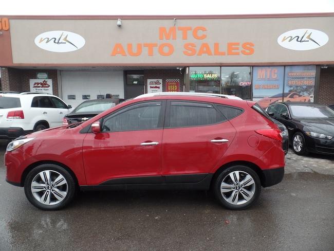 2014 Hyundai Tucson Limited NAVIGATION BACK UP CAM LEATHER, AWD SUV