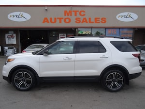 2013 Ford Explorer Sport NAVIGATION BACK UP CAM LEATHER 7 PASS AWD,