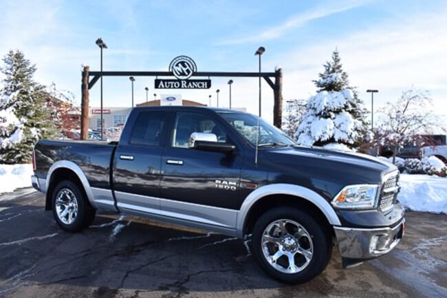 Used 2016 Ram 1500 Laramie Truck Quad Cab For Sale near Twin Falls, ID