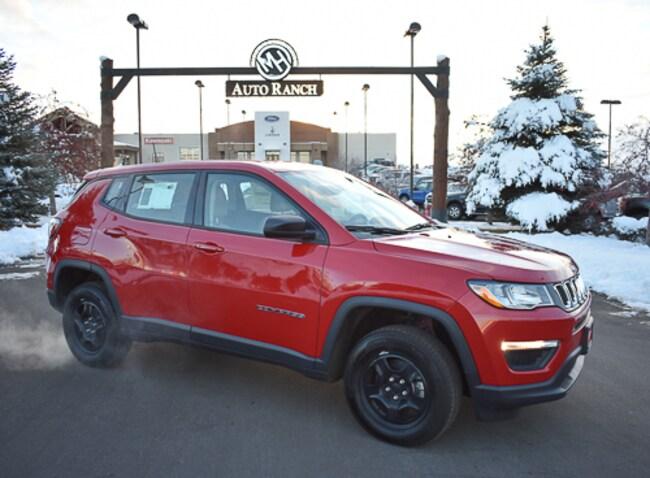 New 2018 Jeep Compass SPORT 4X4 Sport Utility near Twin Falls