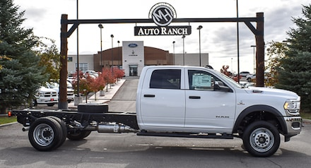 2020 Ram 4500 Chassis Cab 4500 TRADESMAN CHASSIS CREW CAB 4X4 84 CA Crew Cab