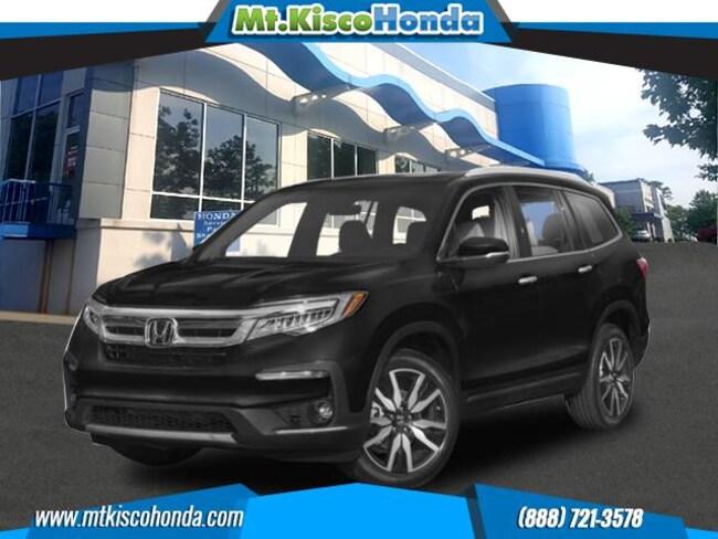 New 2019 Honda Pilot Touring 7-Passenger AWD SUV White Plains
