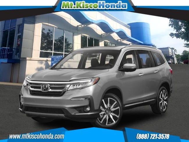 New 2019 Honda Pilot Elite AWD SUV White Plains