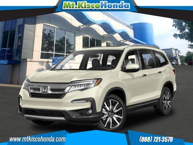 New 2019 Honda Pilot Touring 8-Passenger AWD SUV White Plains
