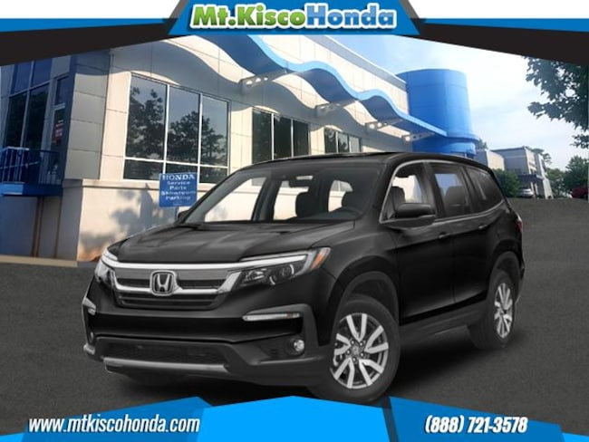 New 2019 Honda Pilot EX-L AWD SUV White Plains