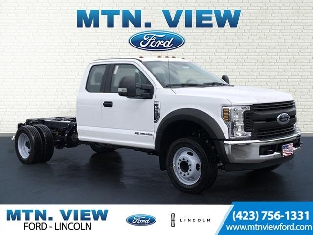 2019 Ford F-550 Chassis XL DRW Cab/Chassis