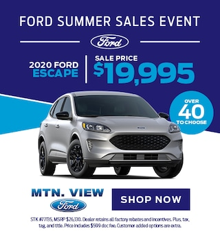 Ford Escape - August
