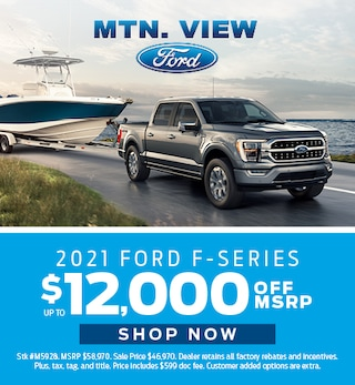 April Offer - 2021 Ford F-series