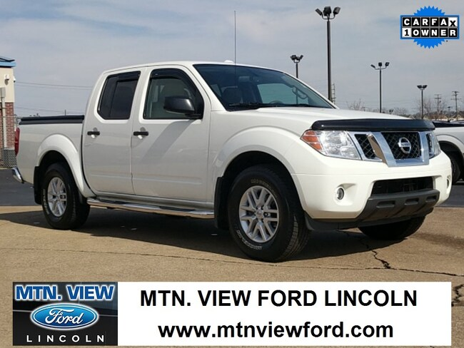 used 2014 nissan frontier for sale at mtn. view ford lincoln | vin
