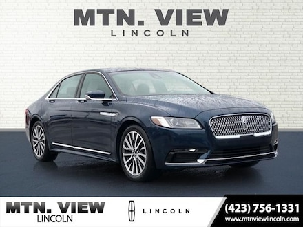 Featured Used 2017 Lincoln Continental Select Sedan for Sale in Chattanooga, TN
