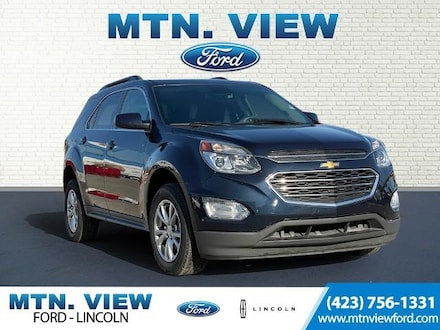 Featured Used 2017 Chevrolet Equinox LT 1LT SUV for Sale in Chattanooga, TN