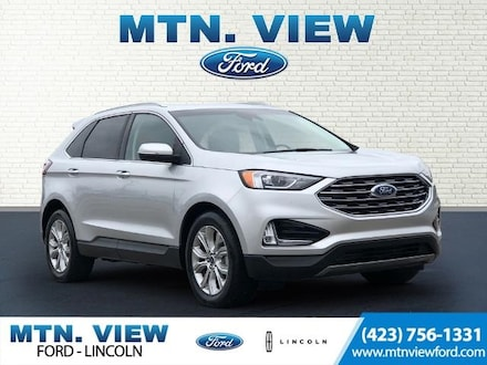 Featured Used 2019 Ford Edge Titanium SUV for Sale in Chattanooga, TN
