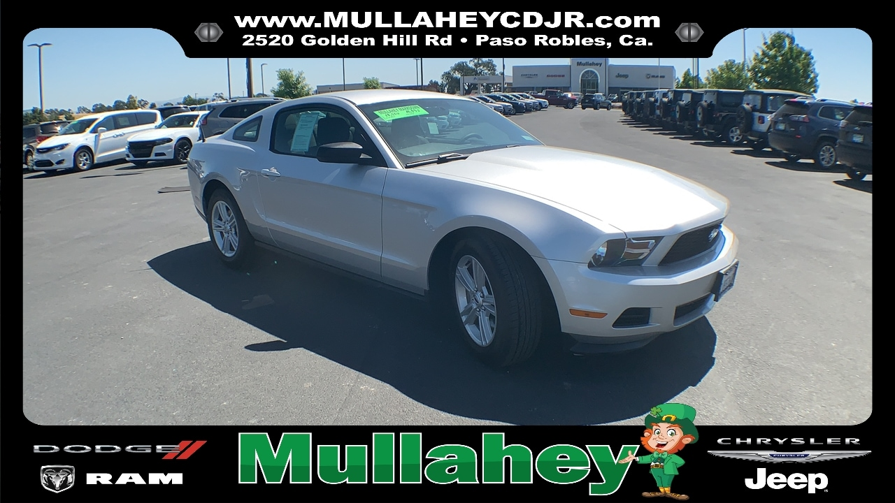 2012 Ford Mustang Coupe